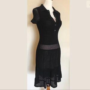 Lacoste x Malandrino Pointelle Polo Dress